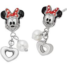 Disney Minnie Mouse Pearl Earrings