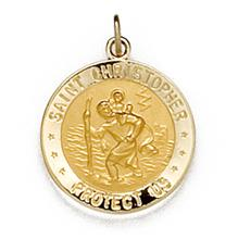 Saint Christopher United States Coast Guard Medal